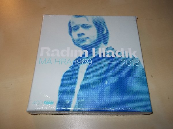 Radim Hladík - Má hra 1969-2018 (4CD / Box Set)