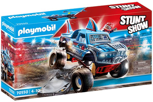MONSTER TRUCK SHARK playmobil 70550