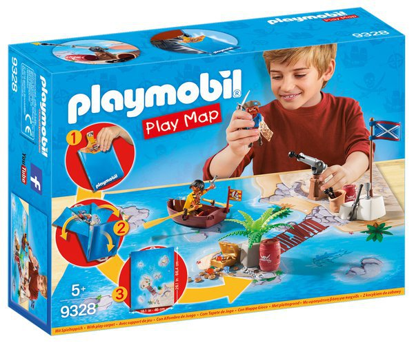 PLAY MAP PIRÁTI playmobil 9328