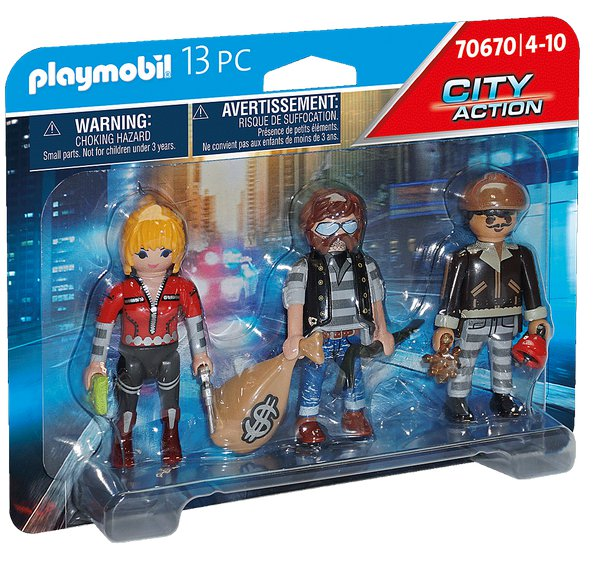 SET FIGUREK LUPIČI playmobil 70670