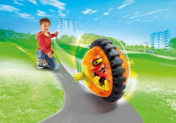 SPEED ROLLER ORANGE playmobil 9203
