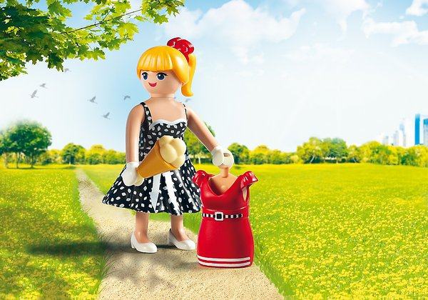 FASHION GIRL - FIFTIES playmobil 6883