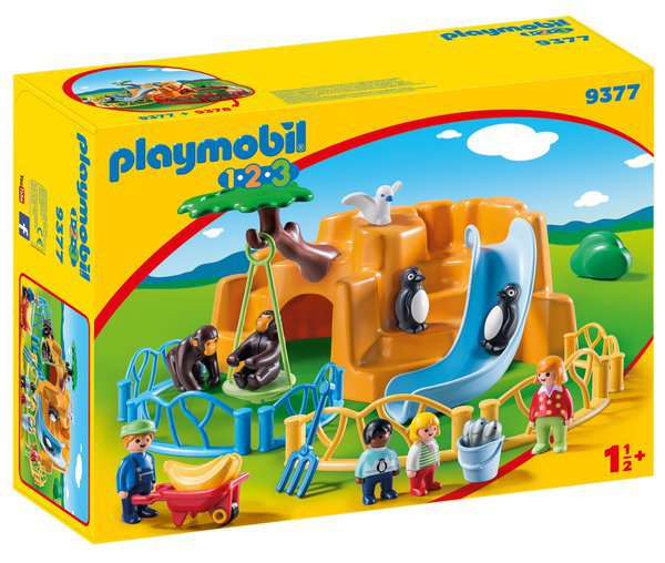 ZOO playmobil 9377