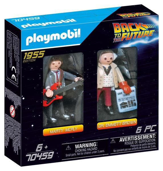 MARTY MCFLY A DR. EMMETT BROWN playmobil 70459