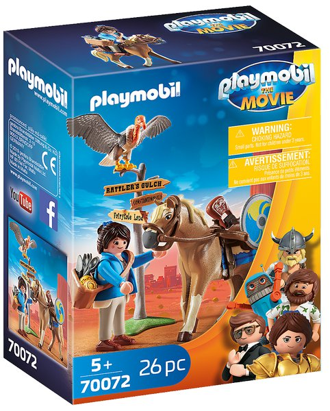 PLAYMOBIL THE MOVIE Marla s koněm 70072