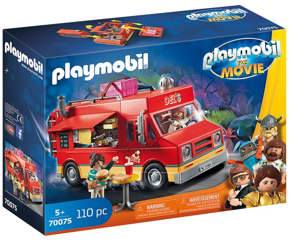 PLAYMOBIL THE MOVIE Delův Food Truck 70075