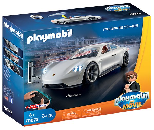 PLAYMOBIL THE MOVIE Porsche Mission Rexe Dashera 70078