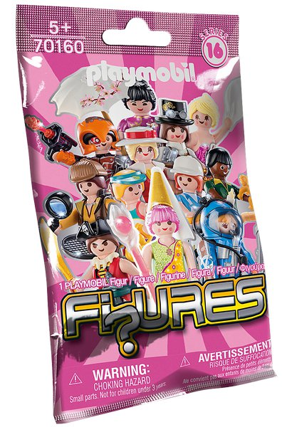 FIGURES GIRLS (16. série) playmobil 70160