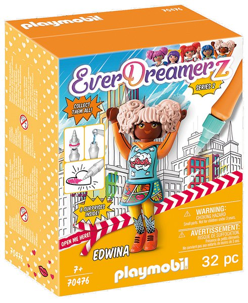 EDWINA (Comic World) playmobil 70476