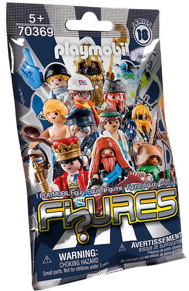 FIGURES BOYS (18. série) playmobil 70369