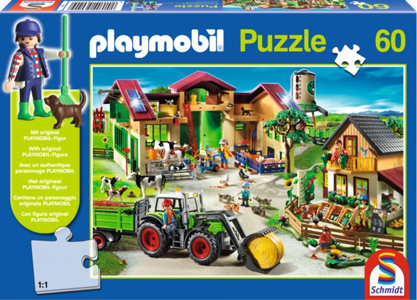 PUZZLE PLAYMOBIL FARMA