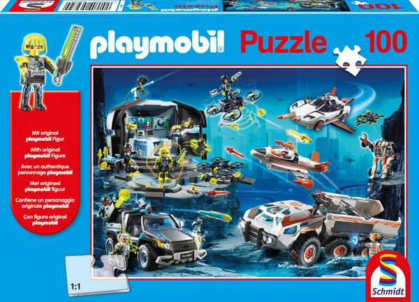 PUZZLE PLAYMOBIL TOP AGENTI