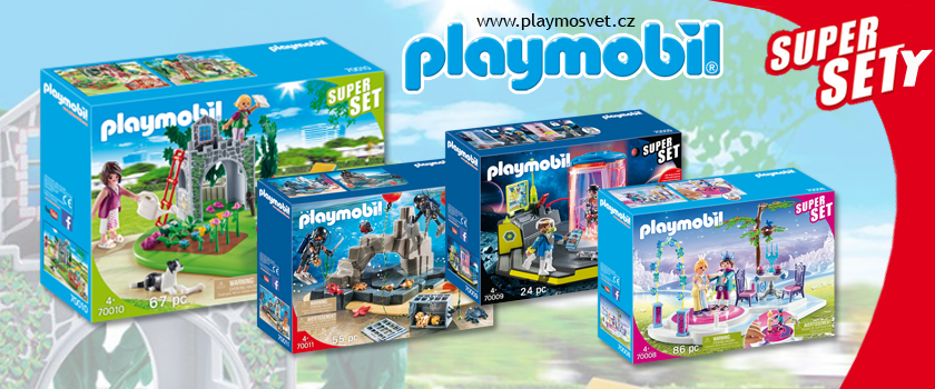 Playmobil supersety