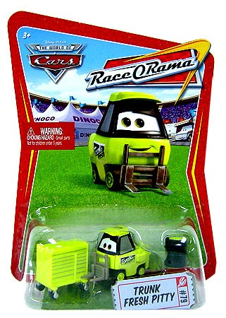 CARS (Auta) - Trunk Fresh Pitty - Race O Rama
