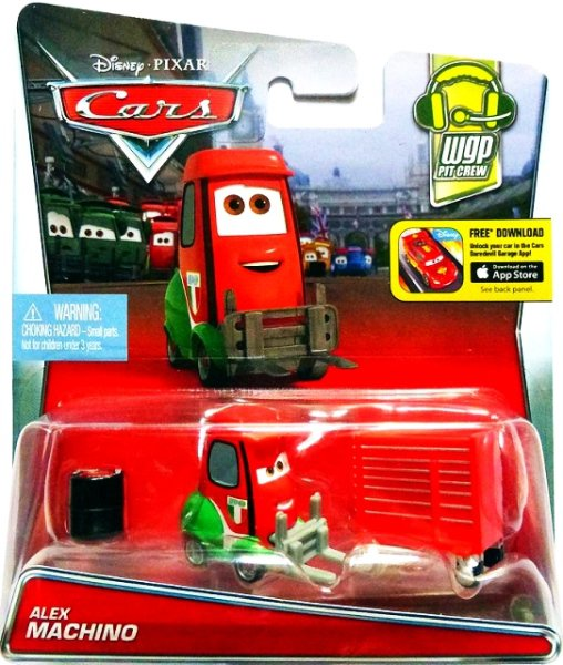 CARS 2 (Auta 2) - Alex Machino (Francesco´s Pitty)