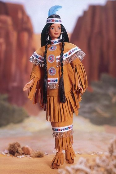 BARBIE Native American (rok 1997)