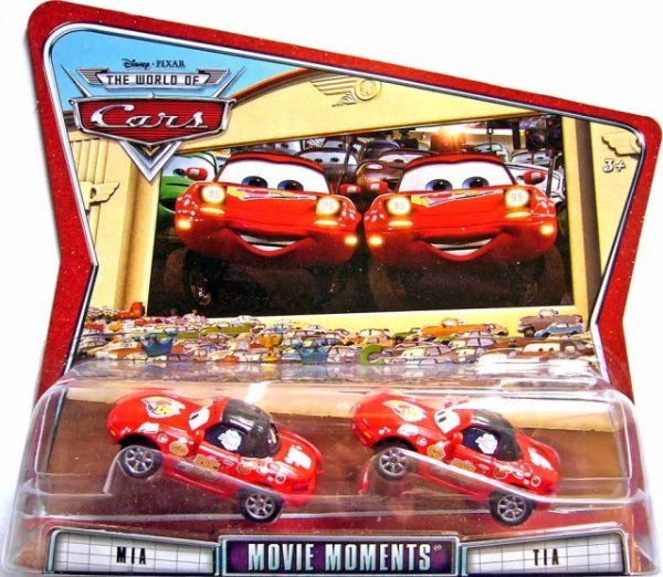 CARS (Auta) - Mia + Tia - THE WORLD OF CARS
