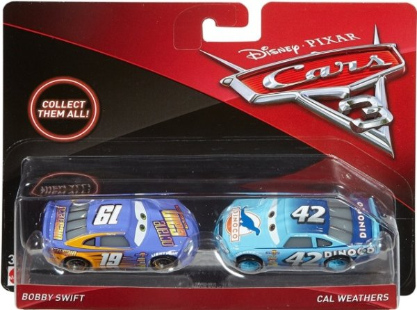 CARS 3 (Auta 3) - Bobby Swift + Cal Weathers