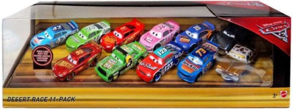CARS 3 (Auta 3) - 11pack Desert Race