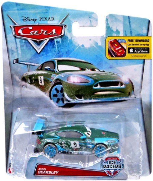 CARS 2 (Auta 2) - Nigel Gearsley (Ice Racers)