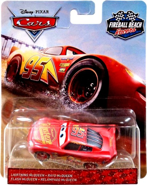 CARS 3 (Auta 3) - Lightning McQueen (Blesk) Fireball Beach