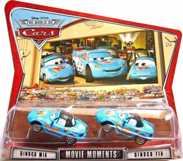 CARS (Auta) - Mia + Tia Dinoco - The World of Cars
