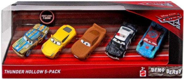 CARS 3 (Auta 3) - 5pack Thunder Hollow
