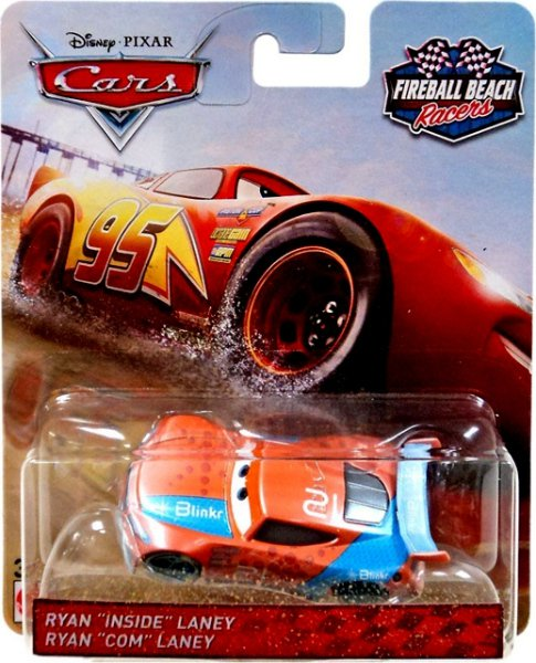 CARS 3 (Auta 3) - Ryan Inside Laney Nr. 21 Fireball Beach