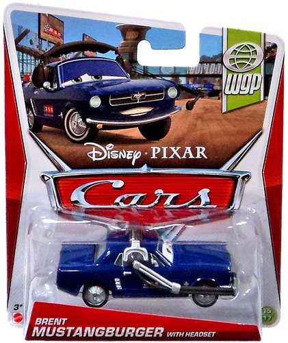 CARS 2 (Auta 2) - Brent Mustangburger with Headset