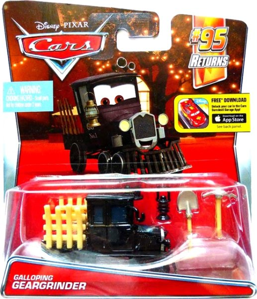 CARS 2 (Auta 2) - Galloping Geargrinder