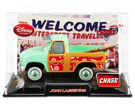 CARS 2 (Auta 2) - John Lassetire Chase Collector Edition