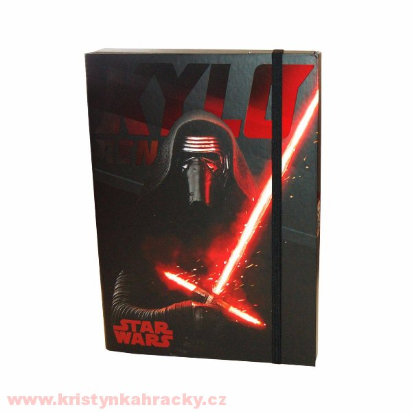 Box na sešity Star Wars A4 > varianta Star Wars Kylo Ren