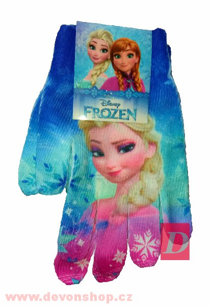 SUN CITY Rukavice FROZEN Elsa > UNI 2-8let