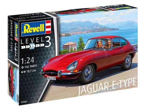 Jaguar E-Type (Coupé) (Revell 1:24) > 1:24