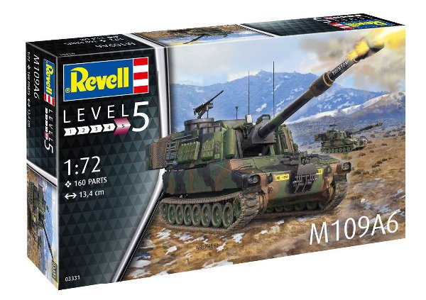 U.S. Self-Propelled Howitzer M109A6 Paladin (Revell 1:72) > 1:72