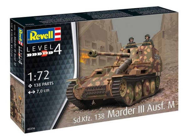 Sd. Kfz. 138 Marder III Ausf. M (Revell 1:72) > 1:72