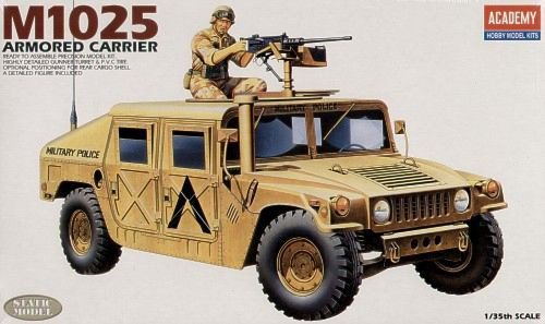 Hummer M1025 Armored Carrier  (Academy 1:35) > 1:35