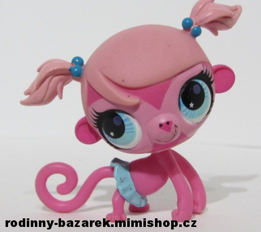 LITTLEST PET SHOP opička Minka Mark LPS 2852  3677 > varianta LPS 2852 č.1