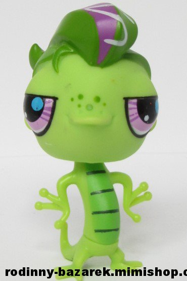 LITTLEST PET SHOP ještěr -  Vinnie LPS 3057 > varianta LPS 3057