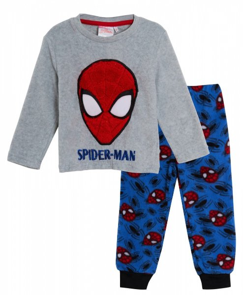 Pyžamo Spiderman polar fleece > varianta 2239 fl. šedo - modré > 104