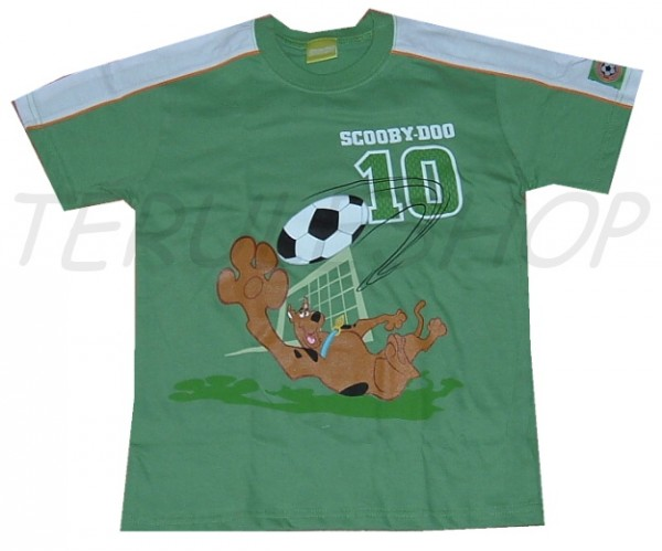 Tričko Scooby Doo > varianta Football green > 98/104