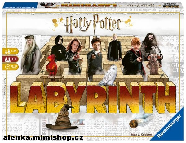 LABYRINT HARRY POTTER