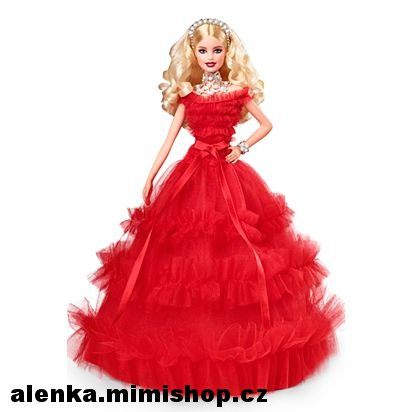 Barbie™ 2018 Holiday Doll > varianta blondýnka