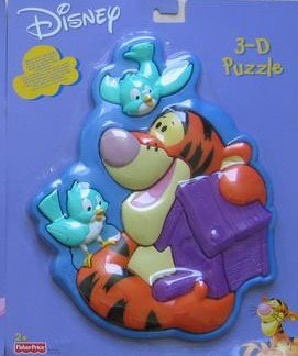 FISHER PRICE 3D PUZZLE DISNEY > varianta tygr
