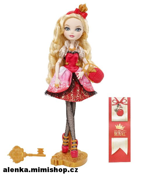 EVER AFTER HIGH šlechtici > varianta APPLE WHITTE