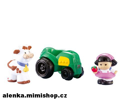 FISHER PRICE LITTLE PEOPLE hrací sada > varianta farmářka