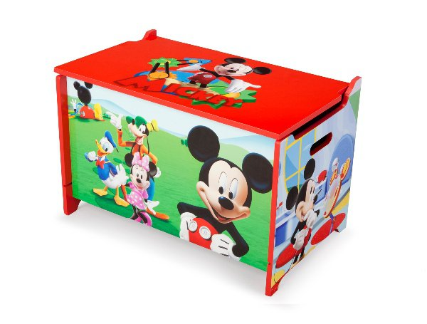 Disney Mickey Mouse box na hračky > varianta MDF Mickey Mouse