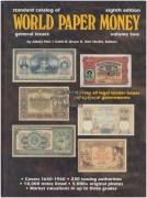 Standard catalog of WORLD PAPER MONEY,  volume two 	(	Kolektiv	)