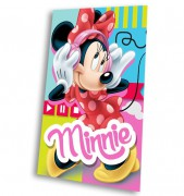 Fleece deka Minnie Mouse