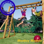 JUNGLE GYM OPIČÍ DRÁHA MONKEY MODUL